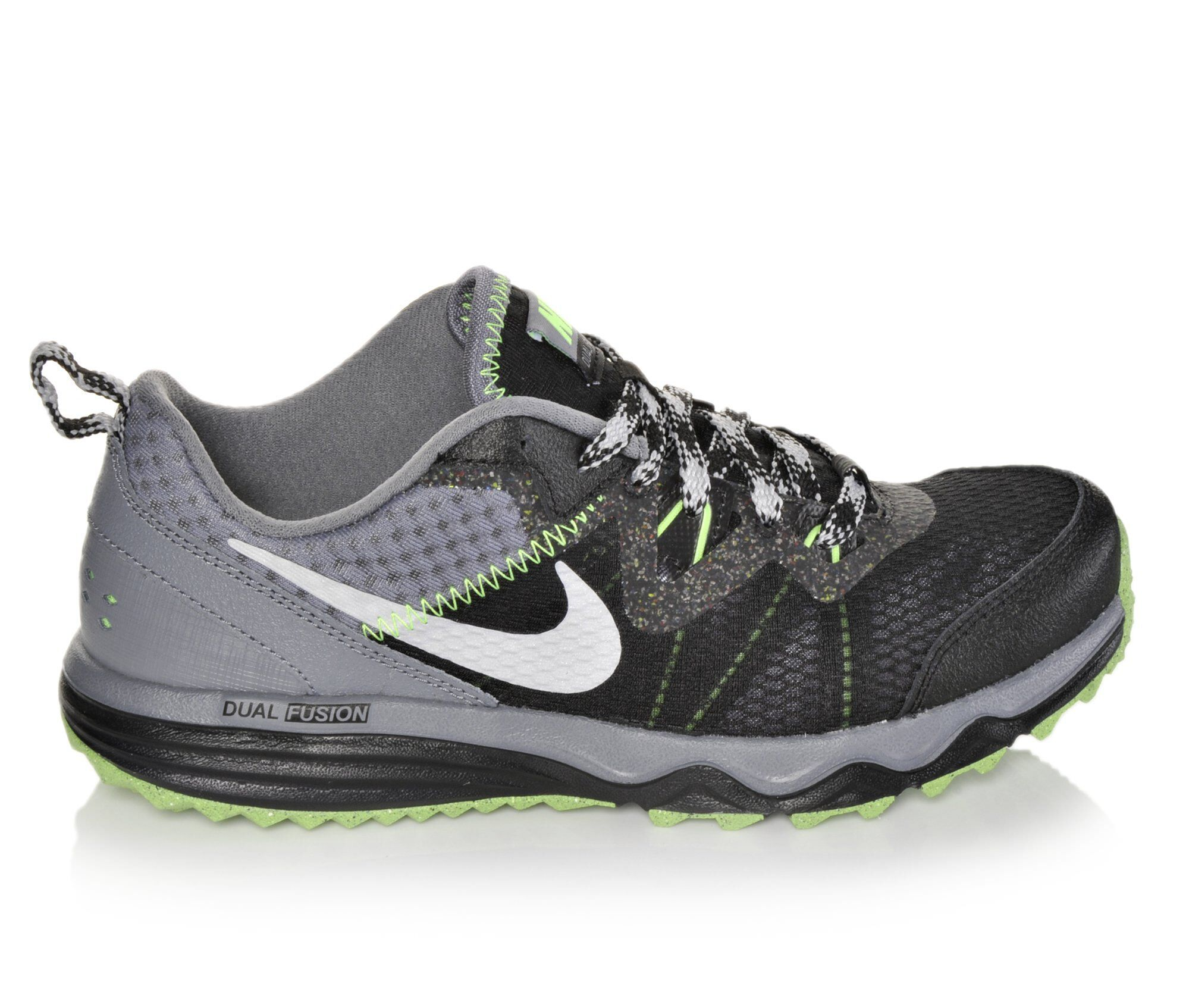 Images. Boys' Nike Dual Fusion Trail 3.5-7 Running Shoes