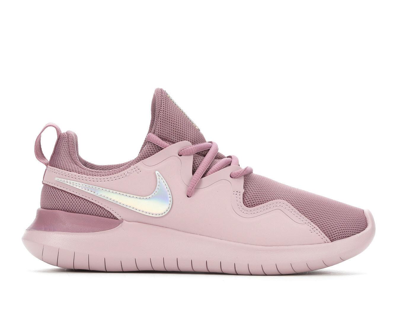 Women's Nike Tessen Sneakers Purple/Slv/Wht
