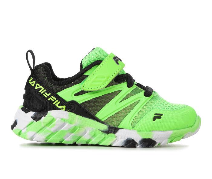 Kids' Fila Infant & Toddler Cryptonic 7 Strap Running Shoes
