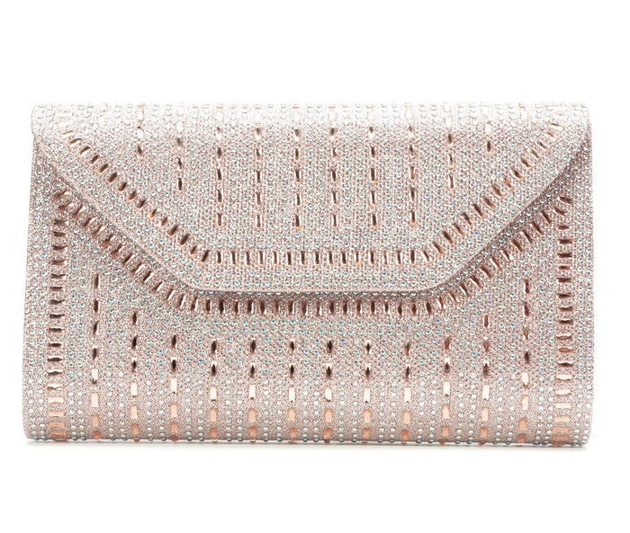 Vanessa Large Rock Candy Evening Clutch