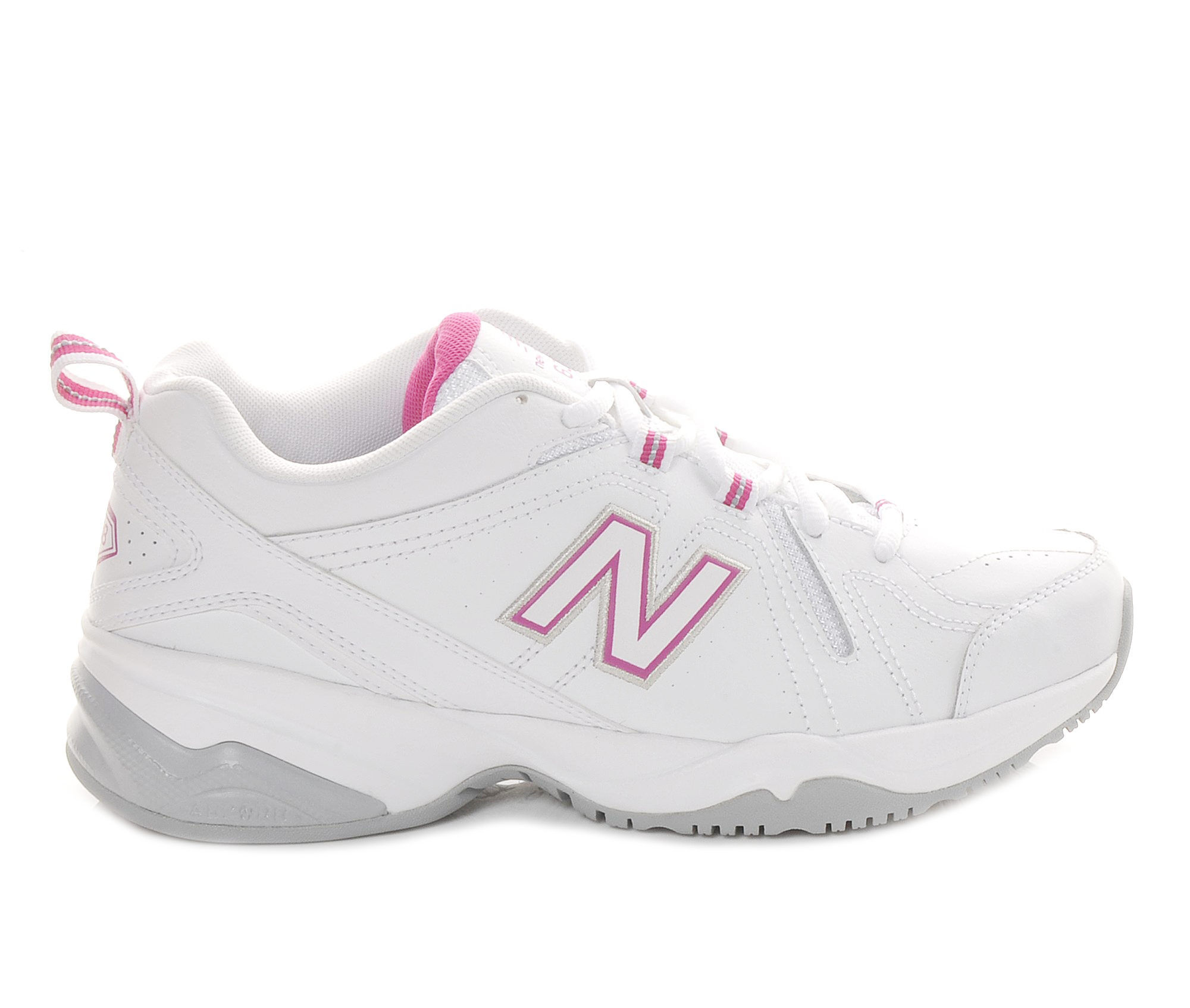 Women's New Balance WX608V4 Training Shoes White/Pink