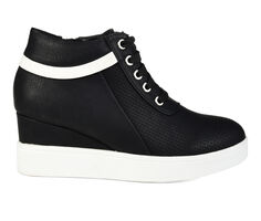 Women's Journee Collection Ayse Wedge Sneakers