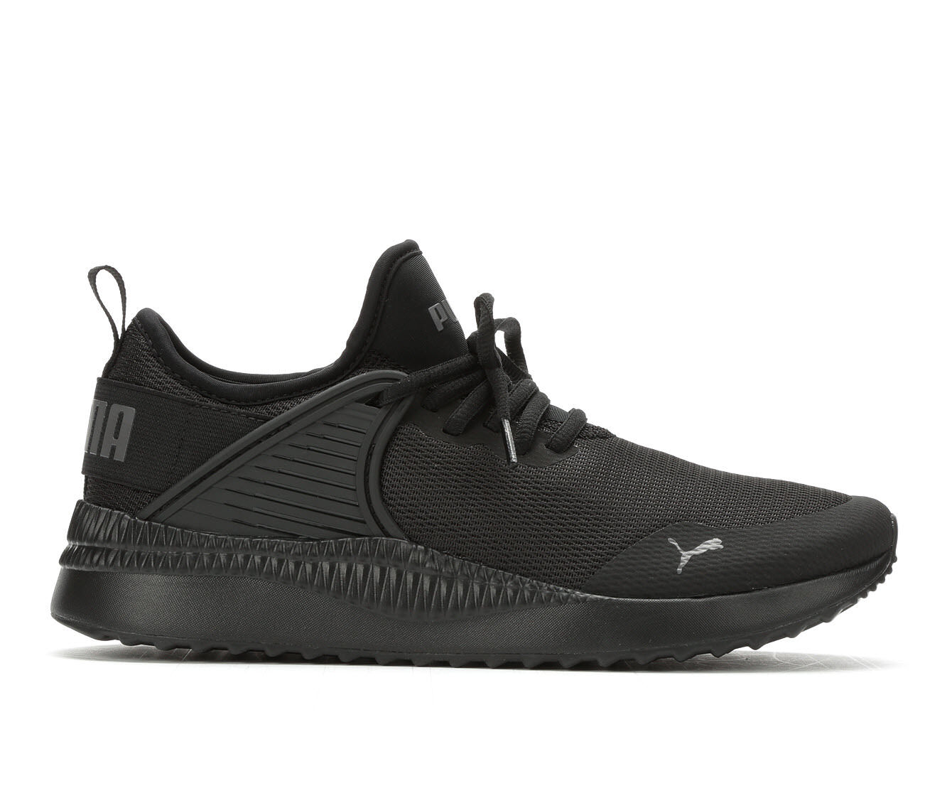 Women's Puma Pacer Cage Sneakers Black/Black