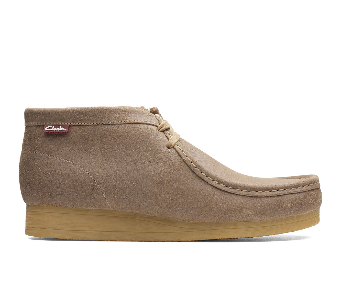 Big Discount Men's Clarks Stinson Hi Boots Taupe Distress
