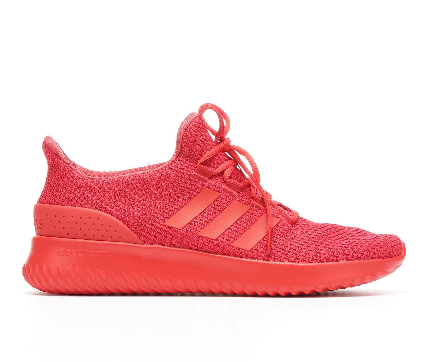 Mens Adidas Orange Cloudfoam Shoes