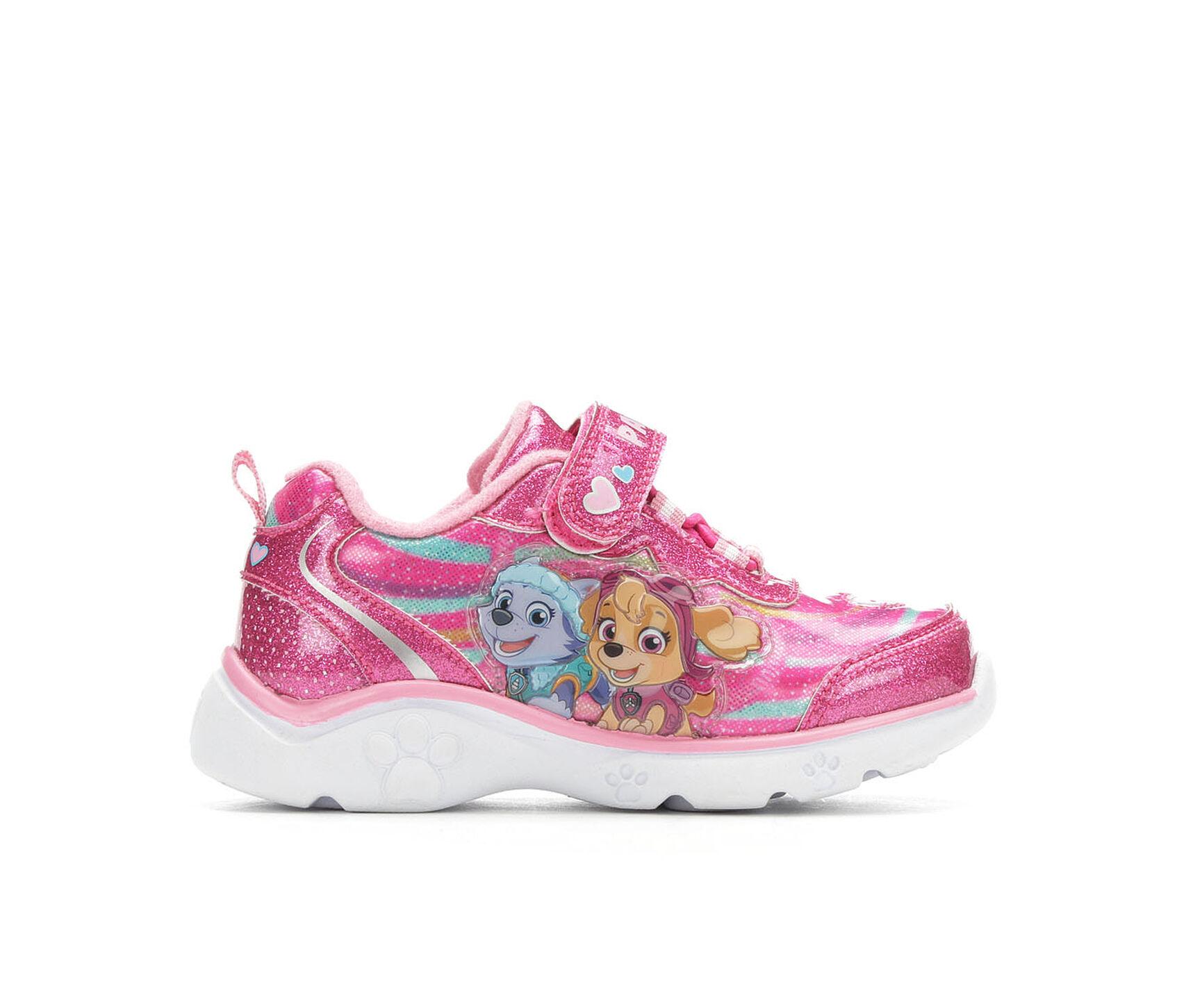 eabba5ba1d17 Girls  Nickelodeon Toddler   Little Kid Paw Patrol 4 Light-Up Sneakers