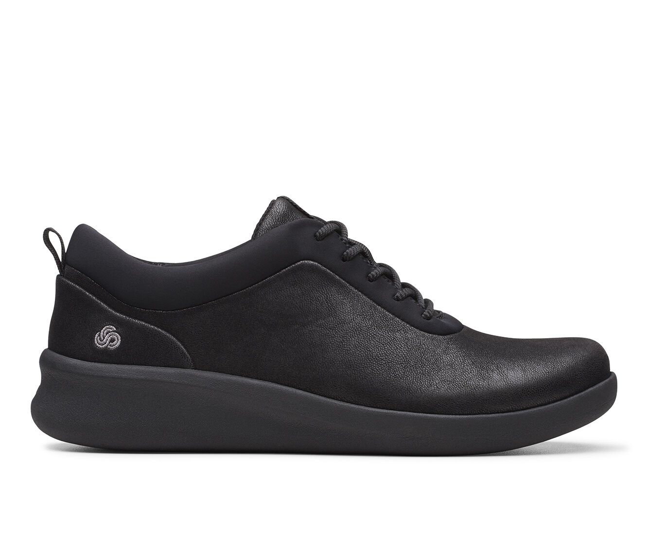 Women's Clarks Sillian 2.0 Pace Black Text