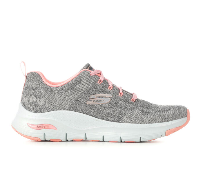 Women's Skechers 149414 Arch Fit Comfy Wave Walking Shoes