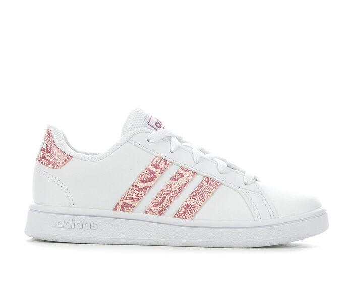 Girls' Adidas Little Kid & Big Kid Grand Court Sneakers