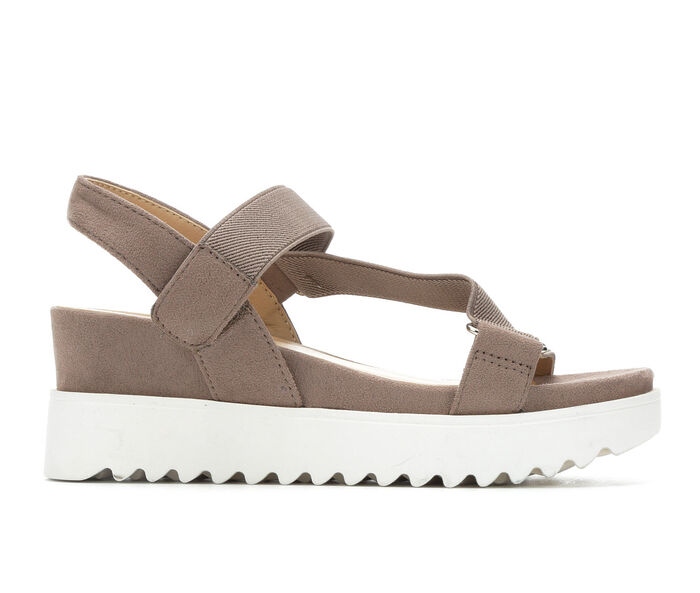 Women's Soda Cubic Wedge Sandals