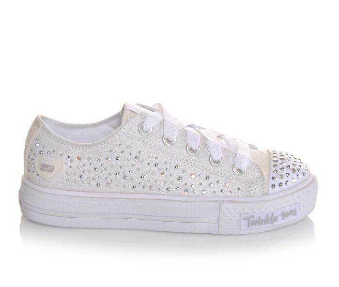 Girls' Skechers Shuffles Twinkle Toe Light-Up Sneakers