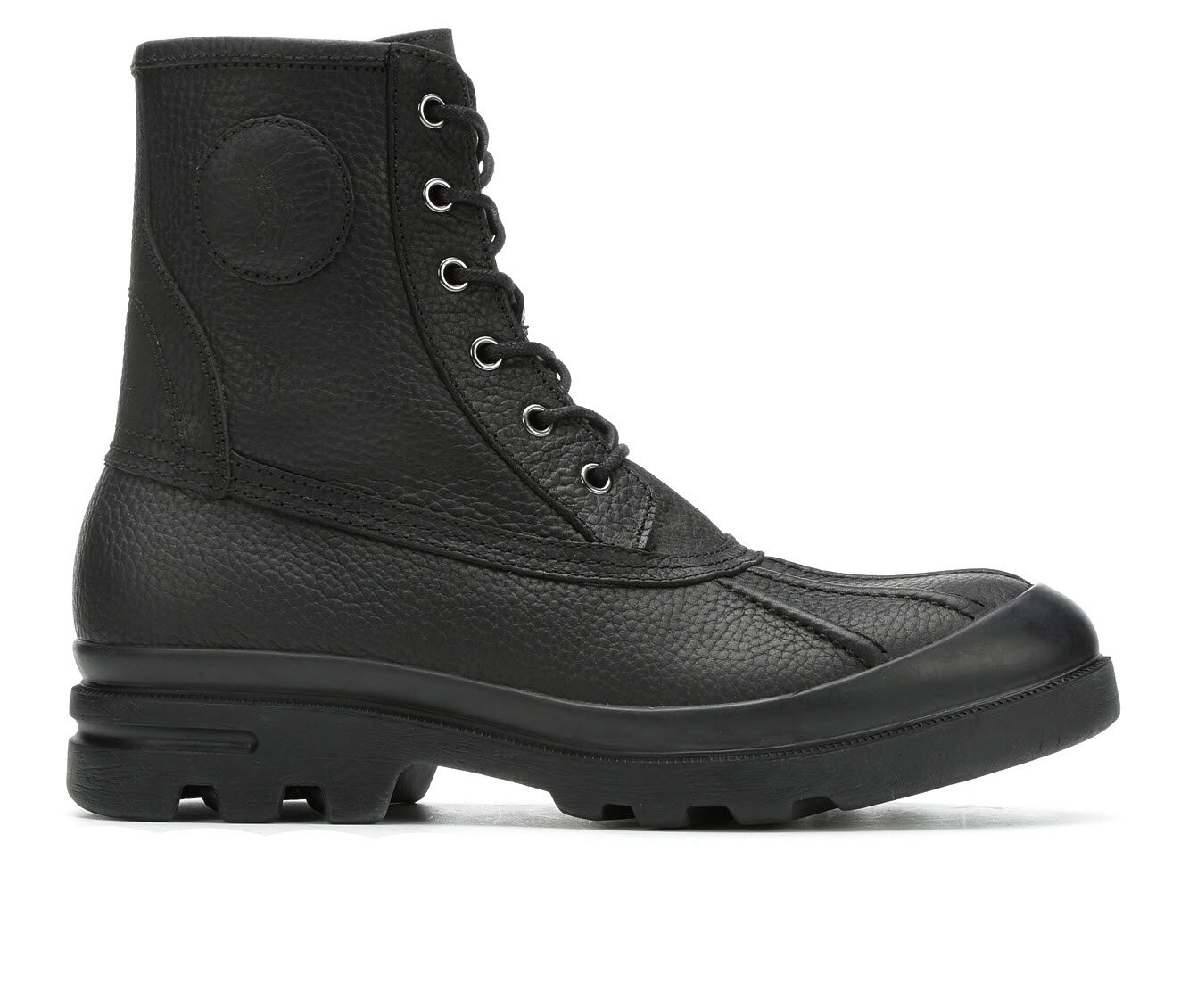 Quite Brilliant Men's Polo Udel Boots Black