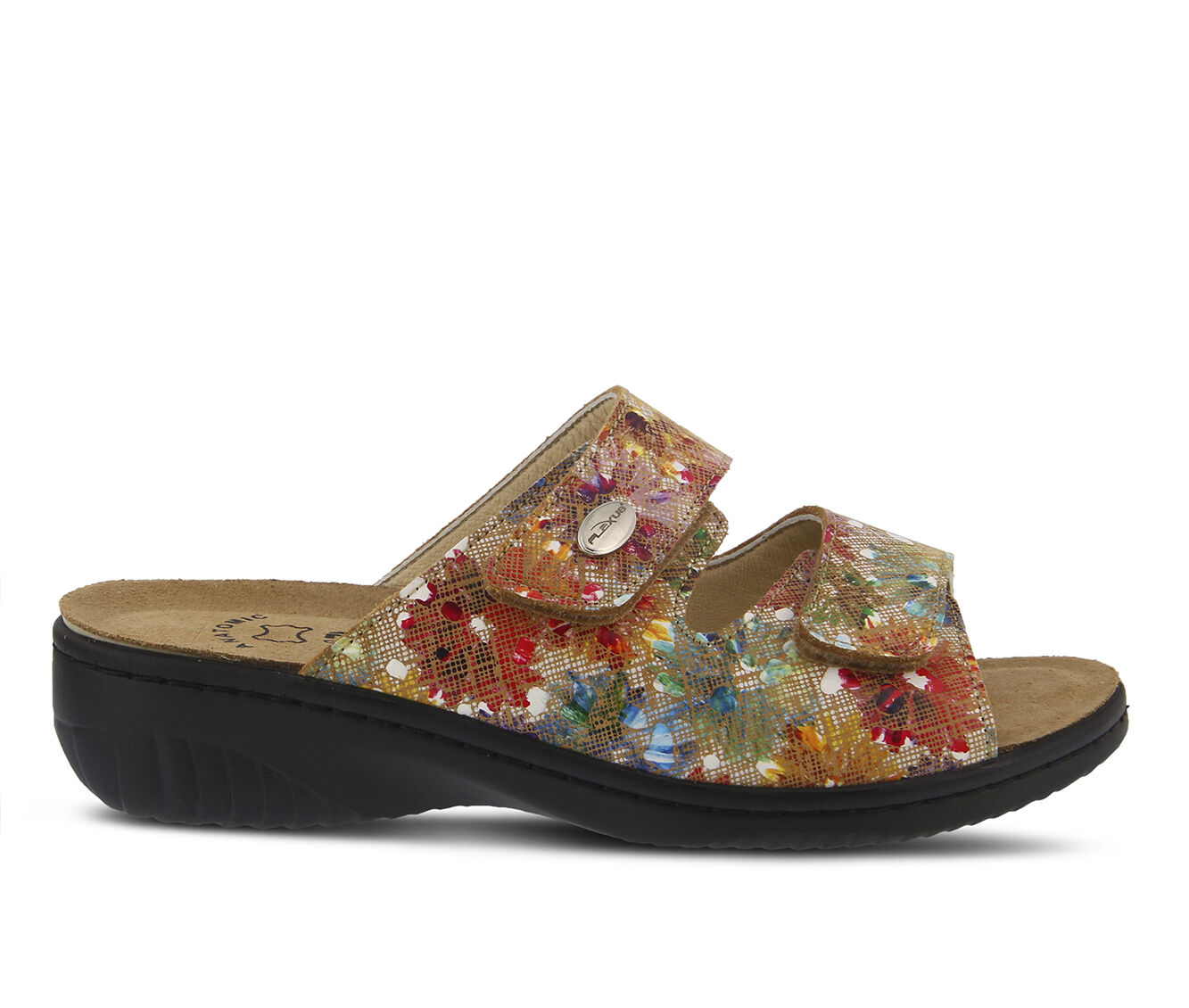 Women's FLEXUS Bellasa Sandals Beige Multi