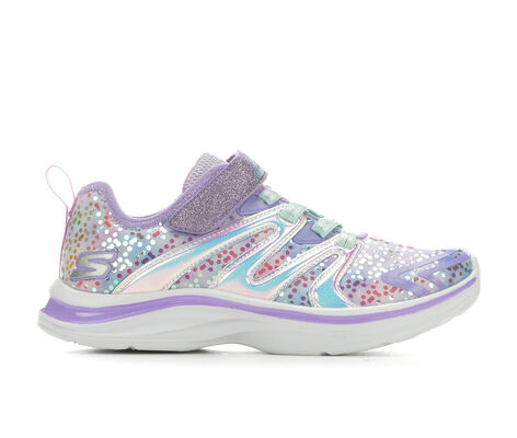 Girls' Skechers Double Dreams Unicorn Wishes 10.5-4 Slip-On Sneakers