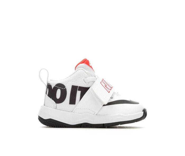 Boys' Nike Infant & Toddler Team Hustle D8 JDI Basketball Shoes
