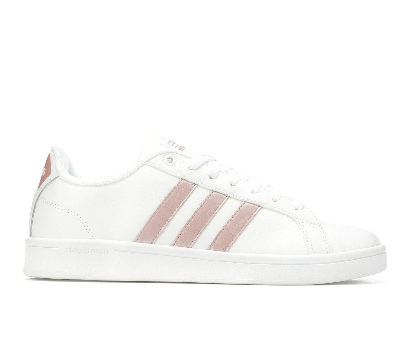 Women\u0026#39;s Adidas Advantage Stripes Sneakers