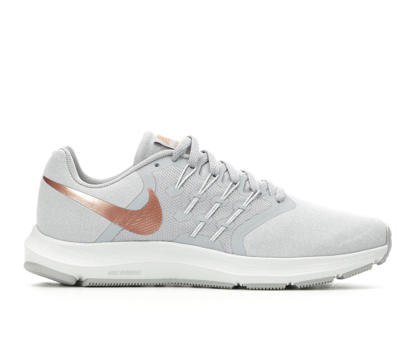 Buy Popular Women's Nike Run Swift Running Shoes Gry/Red Bronze