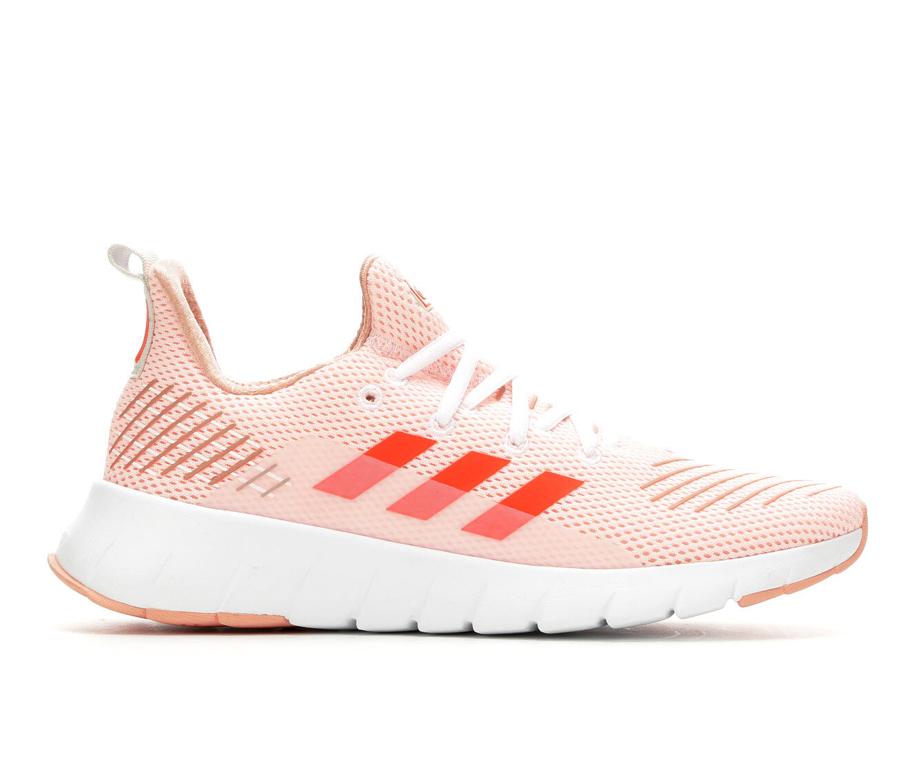 Women's Adidas Asweego Run Running Shoes Orange/Red/Wht