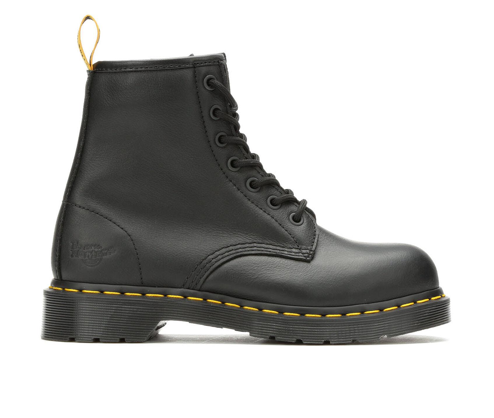 feceee22628 Women's Dr. Martens Industrial Maple Steel Toe Work Shoes