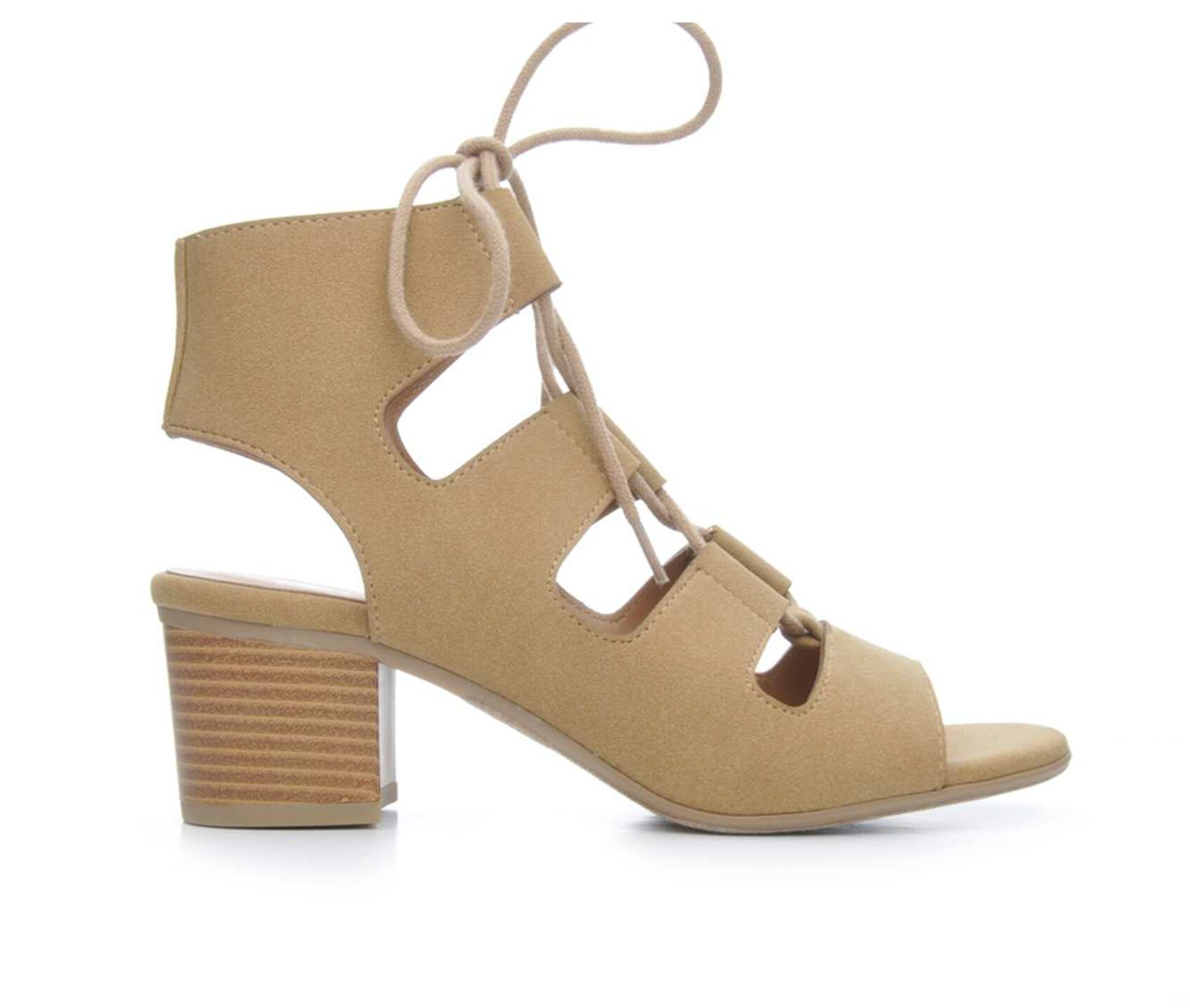 Women's Y-Not Emma Lace-Up Heeled Sandals