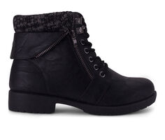 Women's Wanted Brampton Lace-Up Sweater Cuff Booties