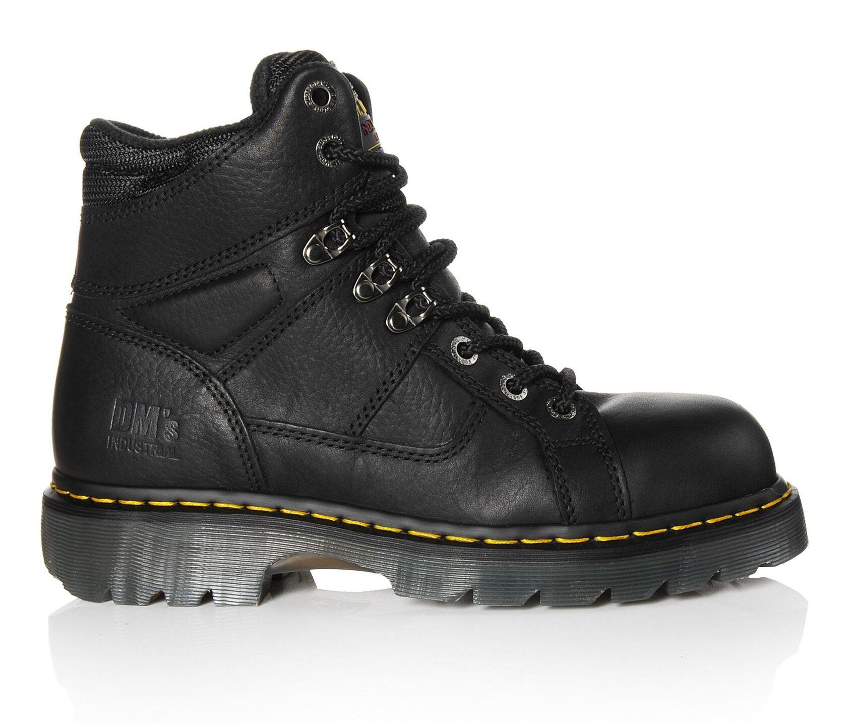 Fashionable steel toe work boots 100