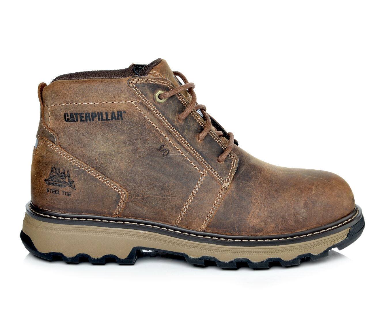 Men's Caterpillar Parker ESD Steel Toe Work Boots