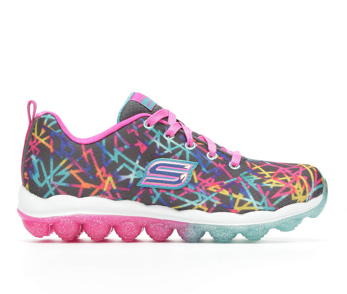 Girls' Skechers Skech Air Scribble- Color Chaos 10.5-6 Running Shoes