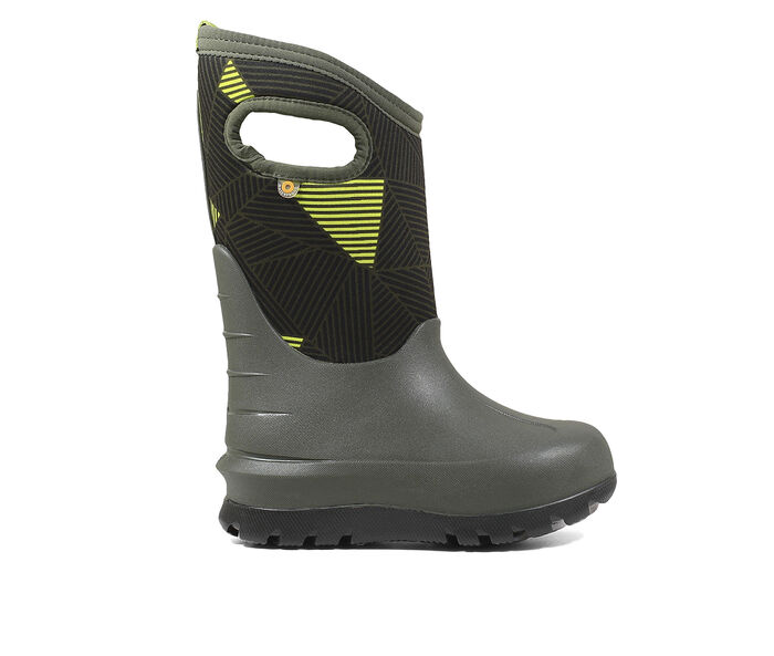 Boys' Bogs Footwear Toddler & Little Kid & Big Kid Classic Big Geo Winter Boots