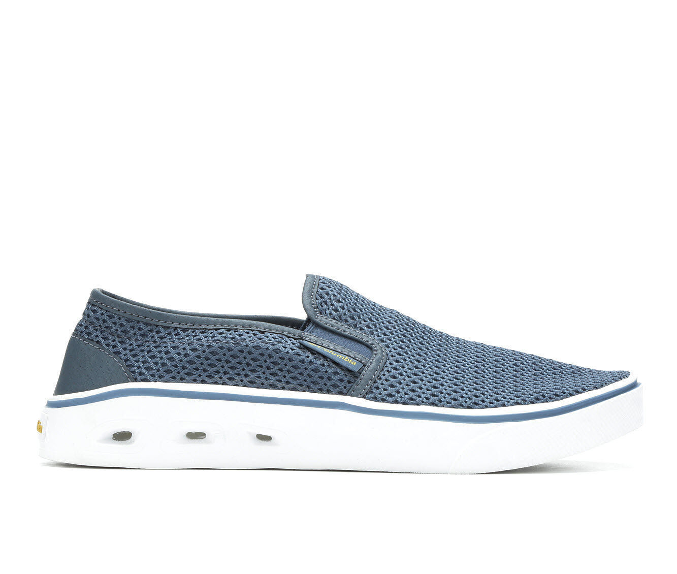 Men's Columbia Spinner Vent Moc Casual Shoes Whale/White