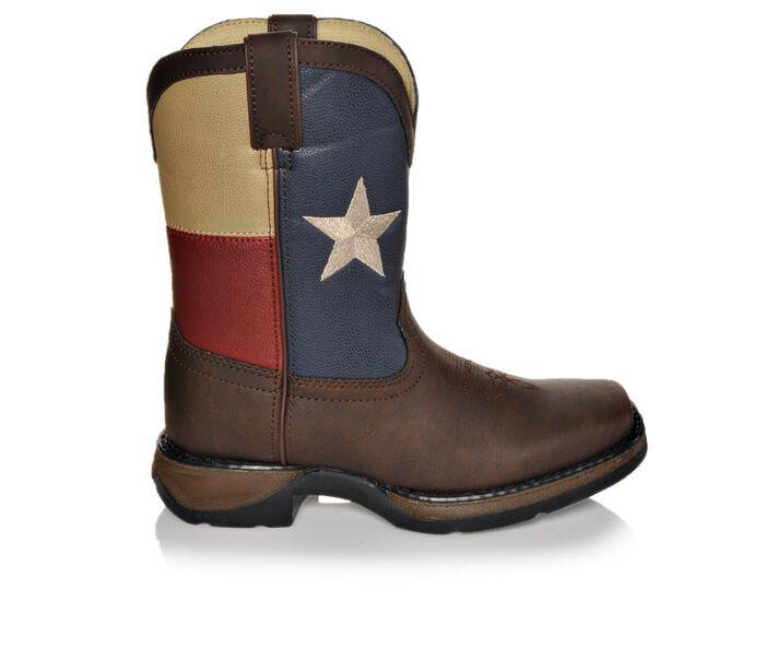 """Boys' Durango 8"""" Texas Flag 1-7 Cowboy Boots"""