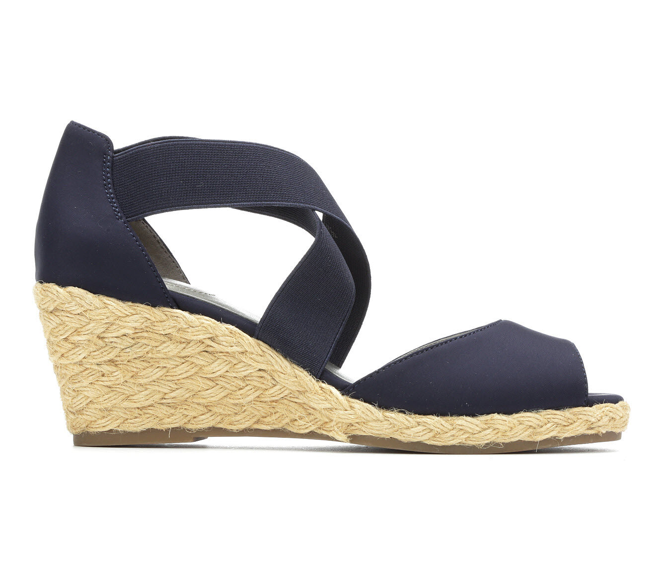 Women's Bandolino Hullen 2 Wedges Navy