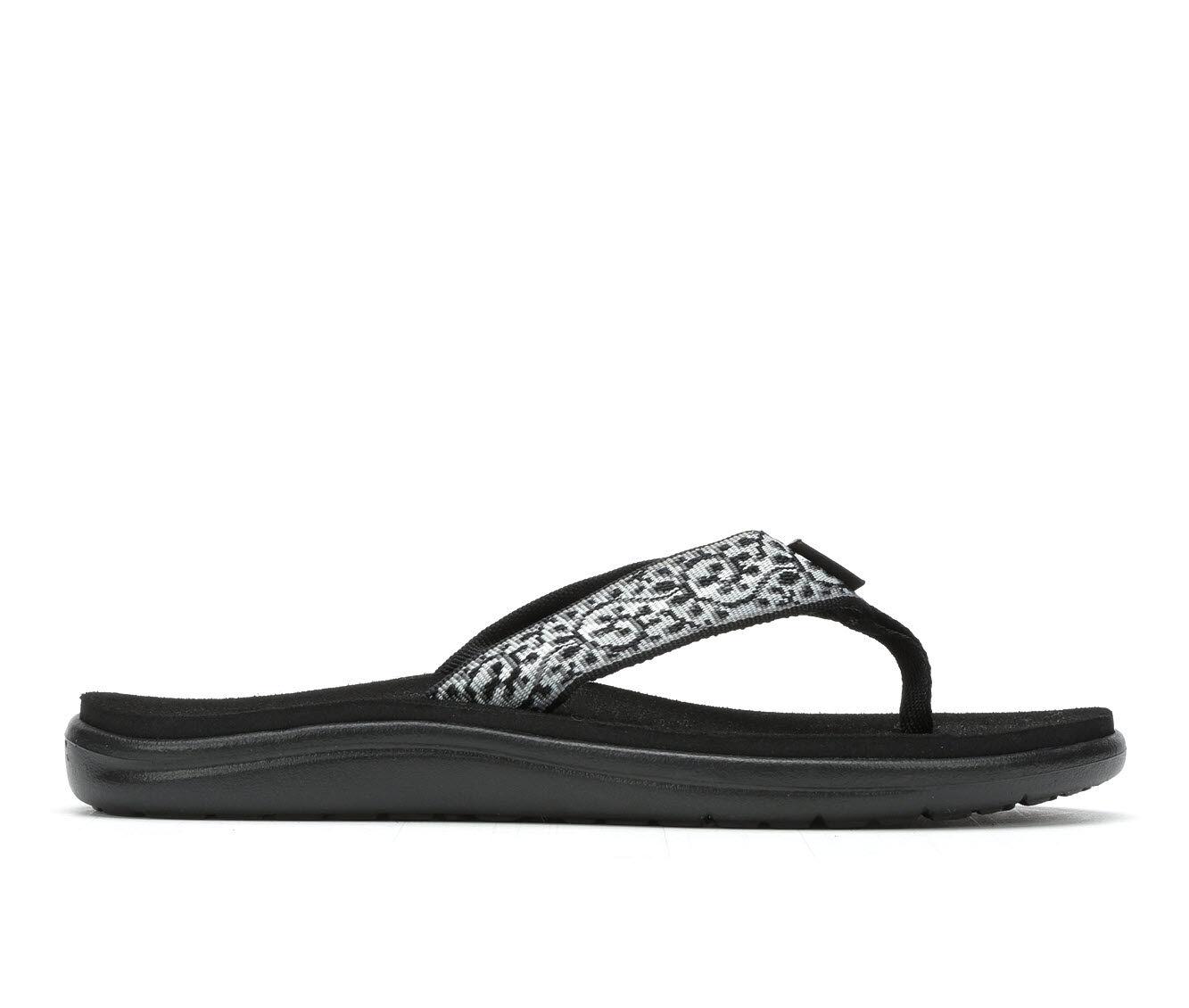 Women's Teva Voya Flip W Sandals Black/White