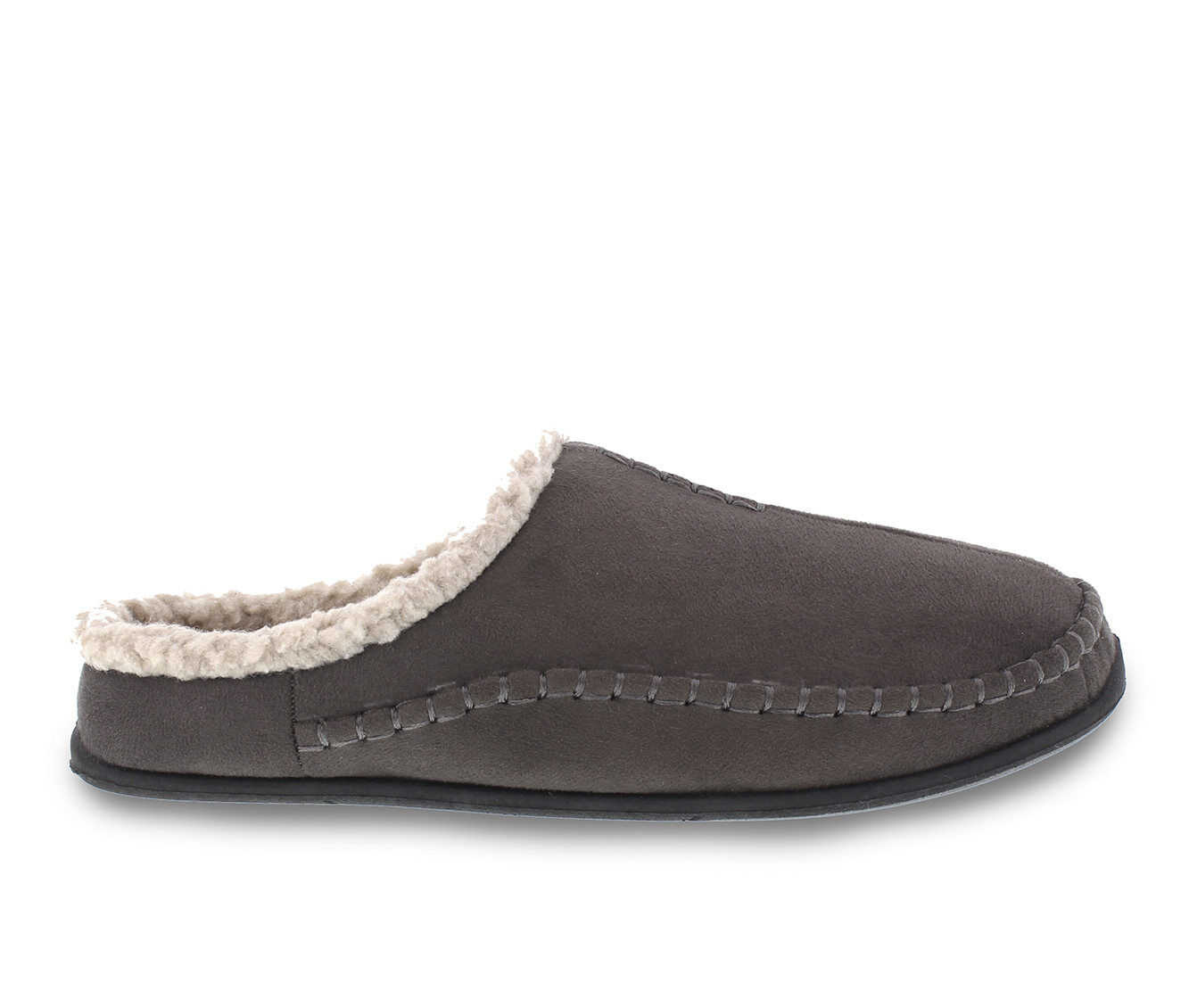 Deer Stags Nordic Slippers Charcoal