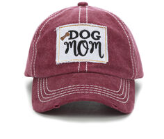 David and Young Dog Mom Patch Cap