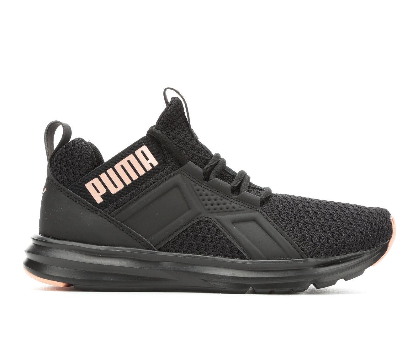 Women's Puma Enzo Knit NM Sneakers Black/Peach