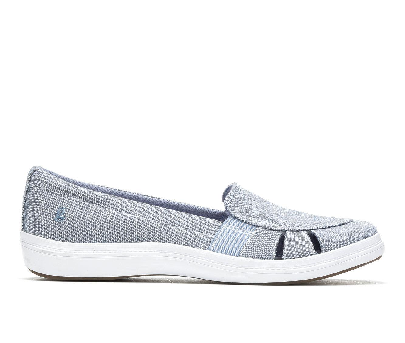 Women's Grasshoppers Janis Fisherman Shoes Stonewash Blue