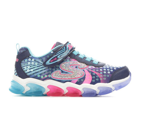 Girls' Skechers Jelly Beams 10.5-3 Light-Up Sneakers