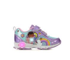 Girls' Disney Toddler & Little Kid Doc McStuffins 14 Light-Up Sneakers
