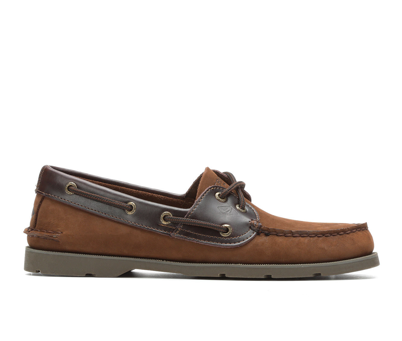 new arrivals Men's Sperry Leeward 2 Eye Boat Shoes Brown Oiled Nub