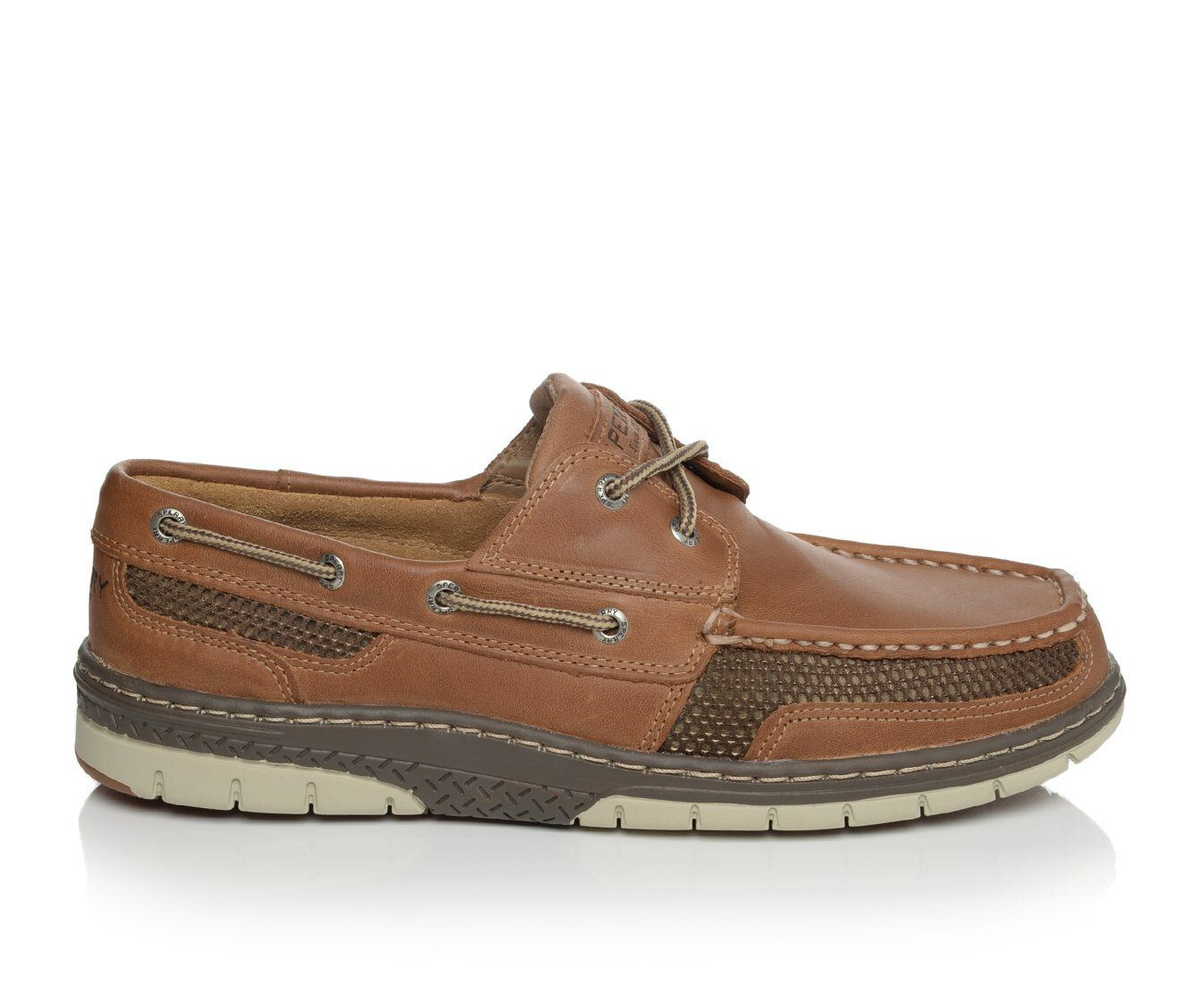 Adorable Men's Sperry Tarpon Ultra Lite Boat Shoes Tan Leather
