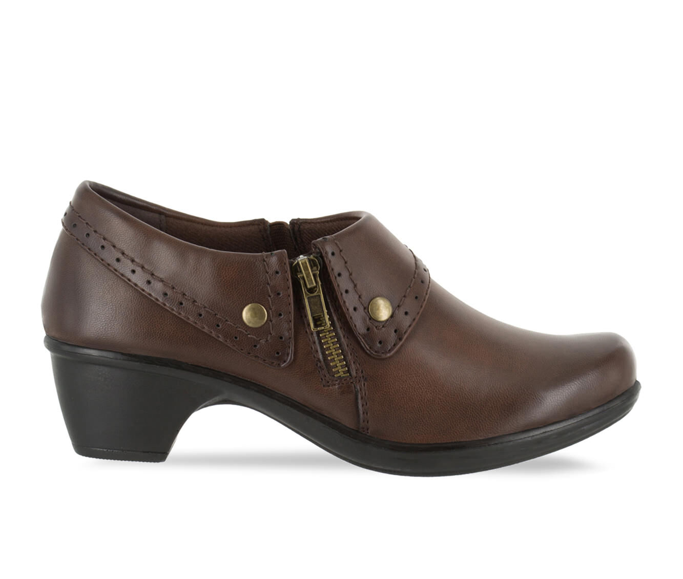 Women's Easy Street Darcy Shoes Brown Burnished