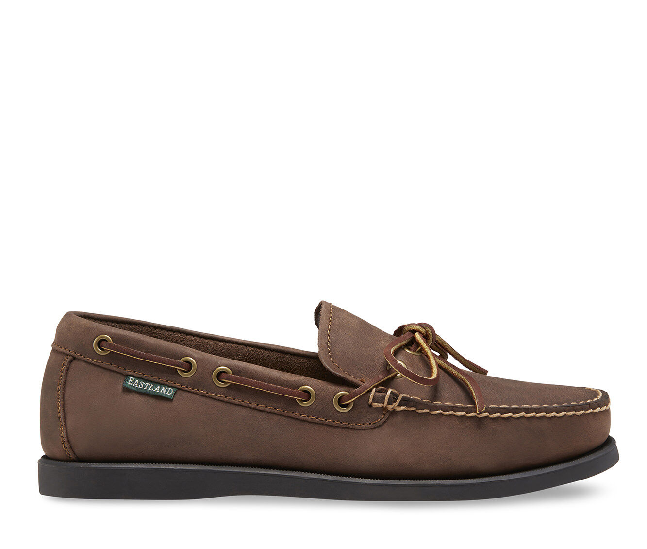 Men's Eastland Yarmouth Boat Shoes Bomber Brown