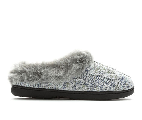 Women's Dearfoams Cable Knit Clog w/Space Dye Accent
