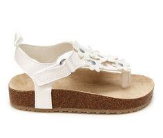 Girls' Carters Toddler & Little Kid Rosetta Footbed Sandals