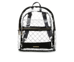 Rampage Clear Stitch Backpack Handbag