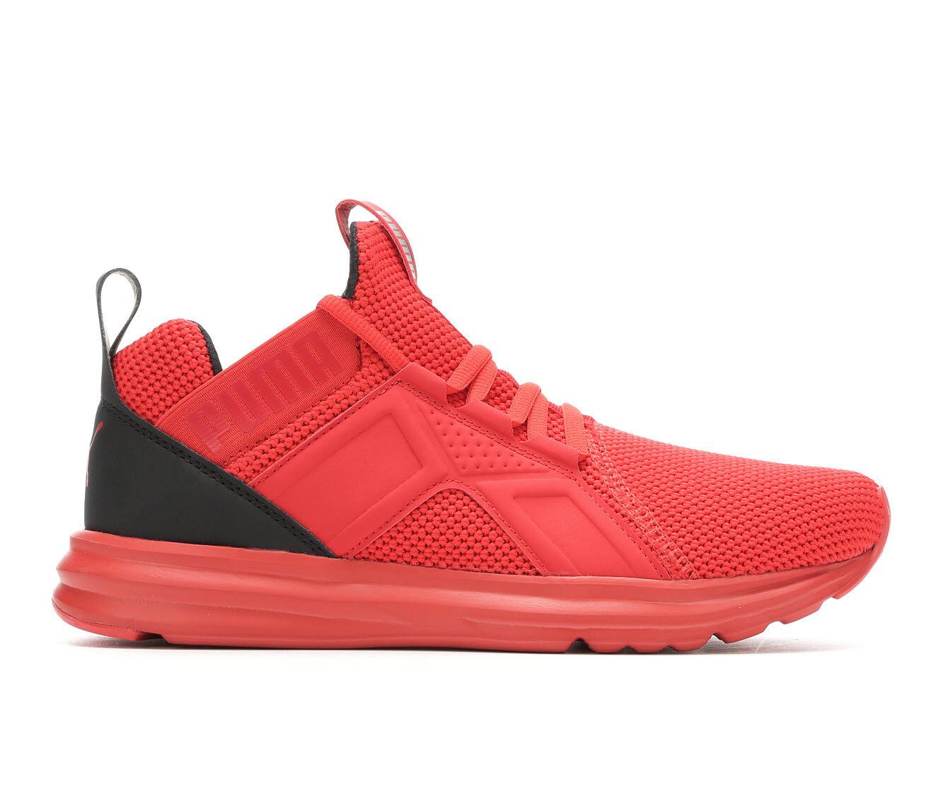 Men's Puma Enzo Weave Sneakers Red/Black