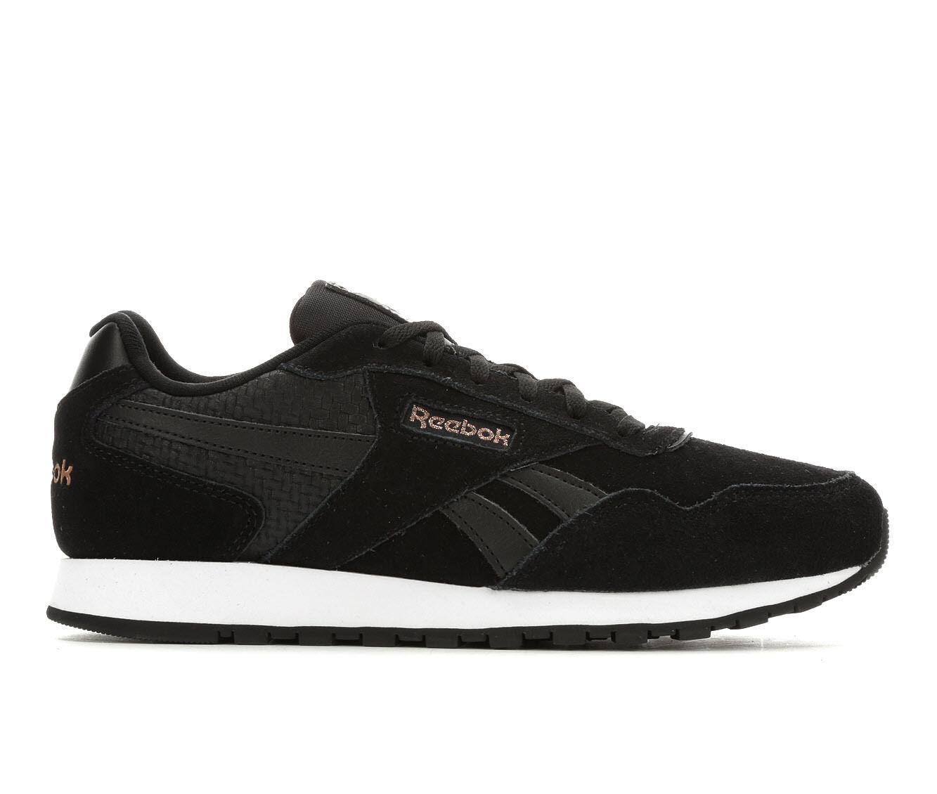 Women's Reebok Classic Harman Run Retro Sneakers Black/Wht/Rose