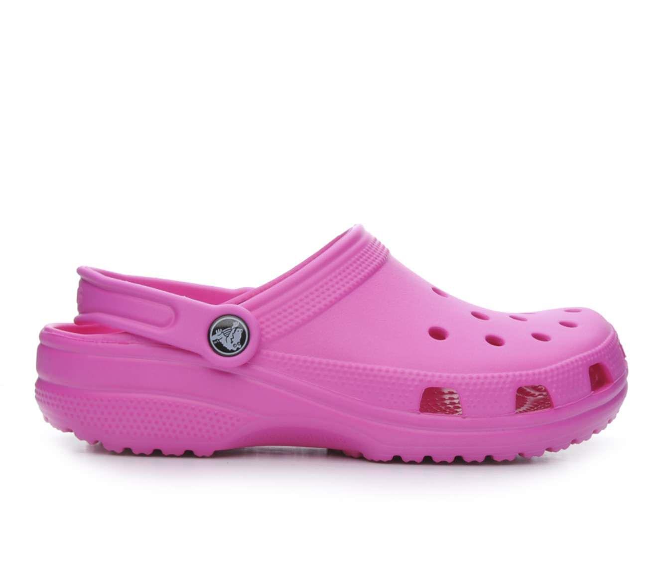 Women's Crocs Classic Clogs Neon Magenta