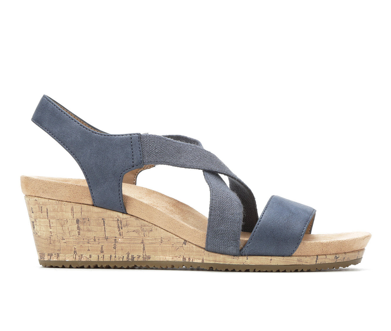 buy authentic new arrivals Women's LifeStride Mexico Wedges Navy